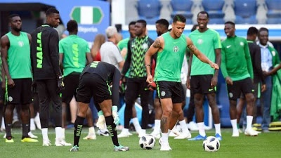 Super Eagles players reveal why they accepted boat ride to Port Novo