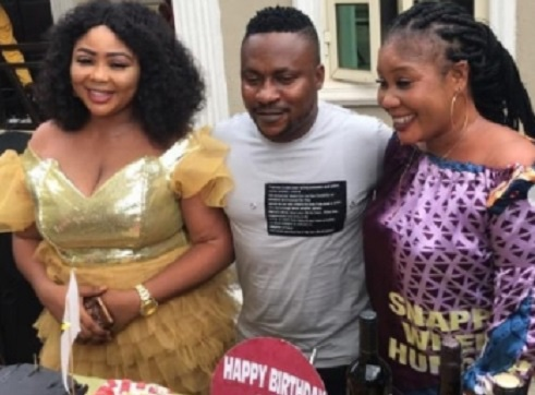 Nollywood Actor Segun Ogungbe's wives celebrate him on his birthday