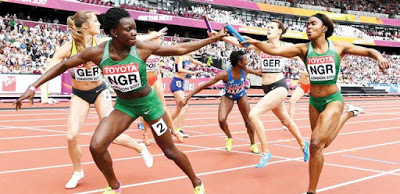 Nigeria out of World Relays as US embassy denies athletes visas