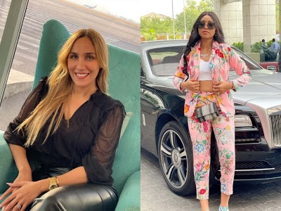 Regina Daniels and co-wife, Laila gush over each other