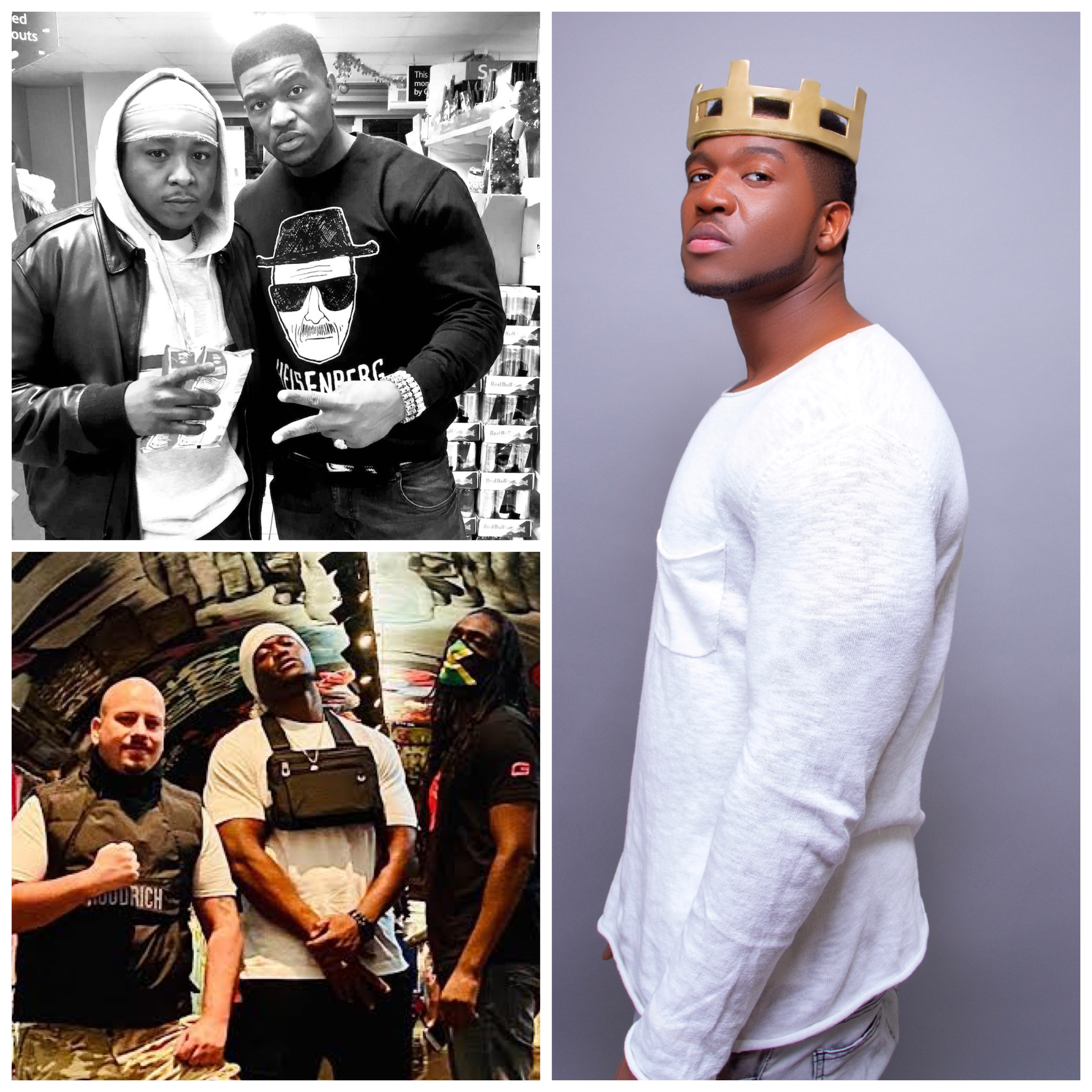 """KING DAVID THE GREAT"", NIGERIA'S NATIONAL ASSETS; Introduces Slovakian Rapper ""KAIDZAS"" into the African Music Scene."