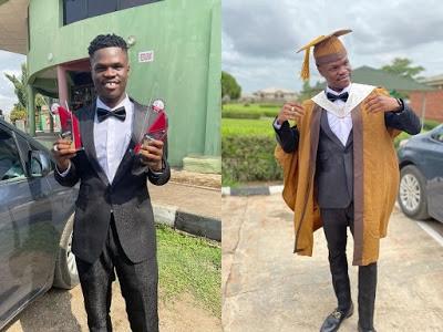 Bad Boy Timz graduates from Bells University