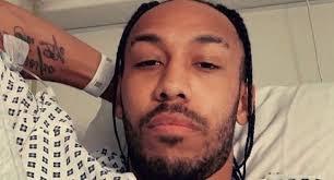 Arsenal captain Aubameyang hospitalised