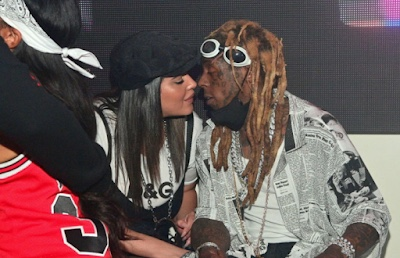 Did Lil Wayne and Denise Bidot just get married?