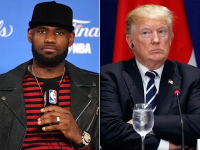 Focus on basketball, Trump says as he slams LeBron James