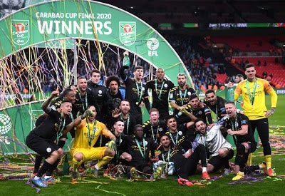 Man City beat Tottenham to retain League Cup