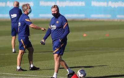 Barcelona manager, Koeman gets two-match ban