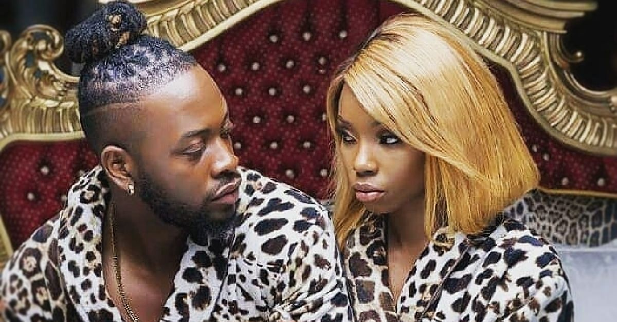 BBNaija Couple, Teddy A and Bam Bam reveal why they don't check each other's phones