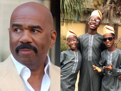 American host Steve Harvey hails Ikorodu Bois