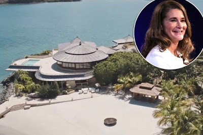 Melinda Gates reportedly rented $132,000-a-night private island to avoid the media amid divorce from Bill Gates