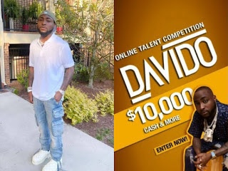 Davido announces talent hunt show, to give winner $10,000