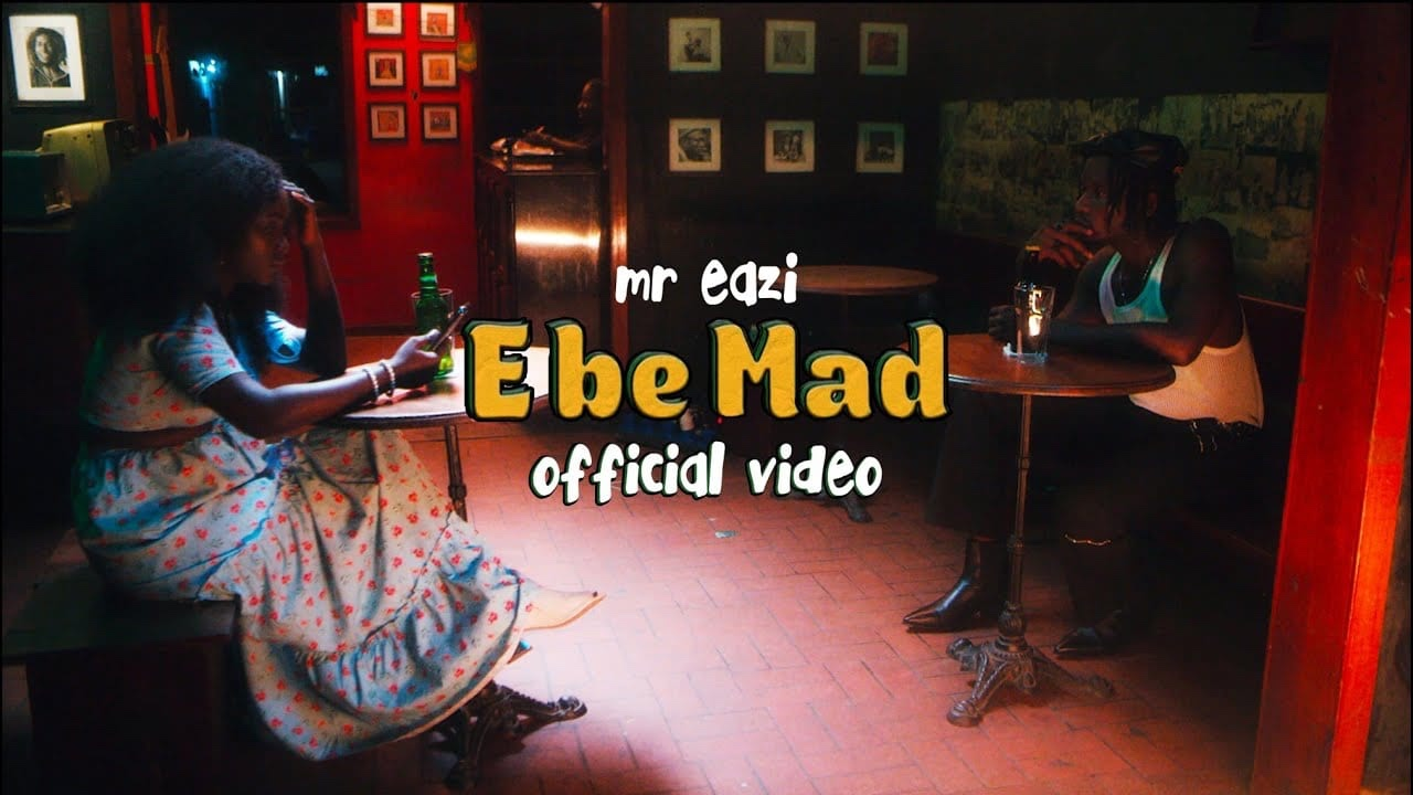 Mr Eazi serves the visuals for 'E Be Mad'