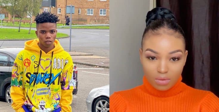 Fast rising Singer Lyta's Baby Mama drags him to social media