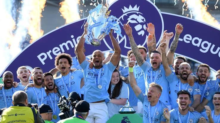 Man. City lift EPL trophy in style by demolishing Everton