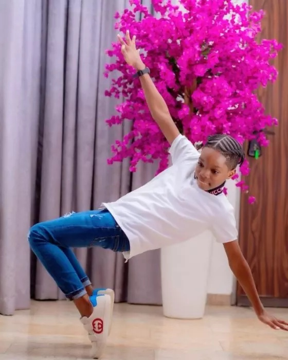 Wizkid's First Son, Boluwatife Set 'To Take Over The World' as mom teases with the Release Of His First Single