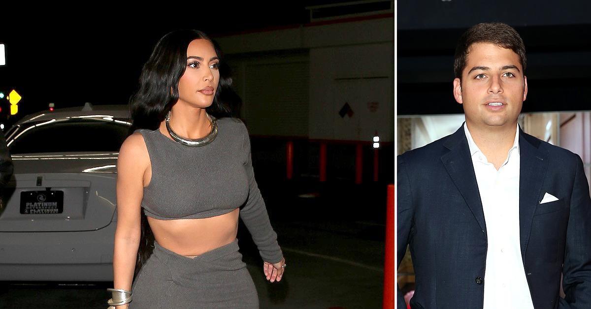 Kim Kardashian parties with billionaire bachelor