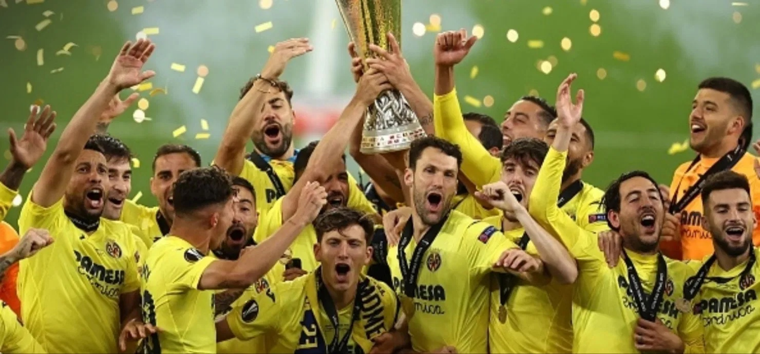 Chukwueze wins Europa League title with Villarreal as Man Utd's trophy drought continues