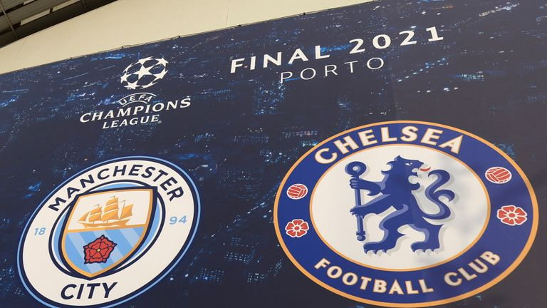 Man. City and Chelsea fans clashes with Porto police ahead of Champions League final