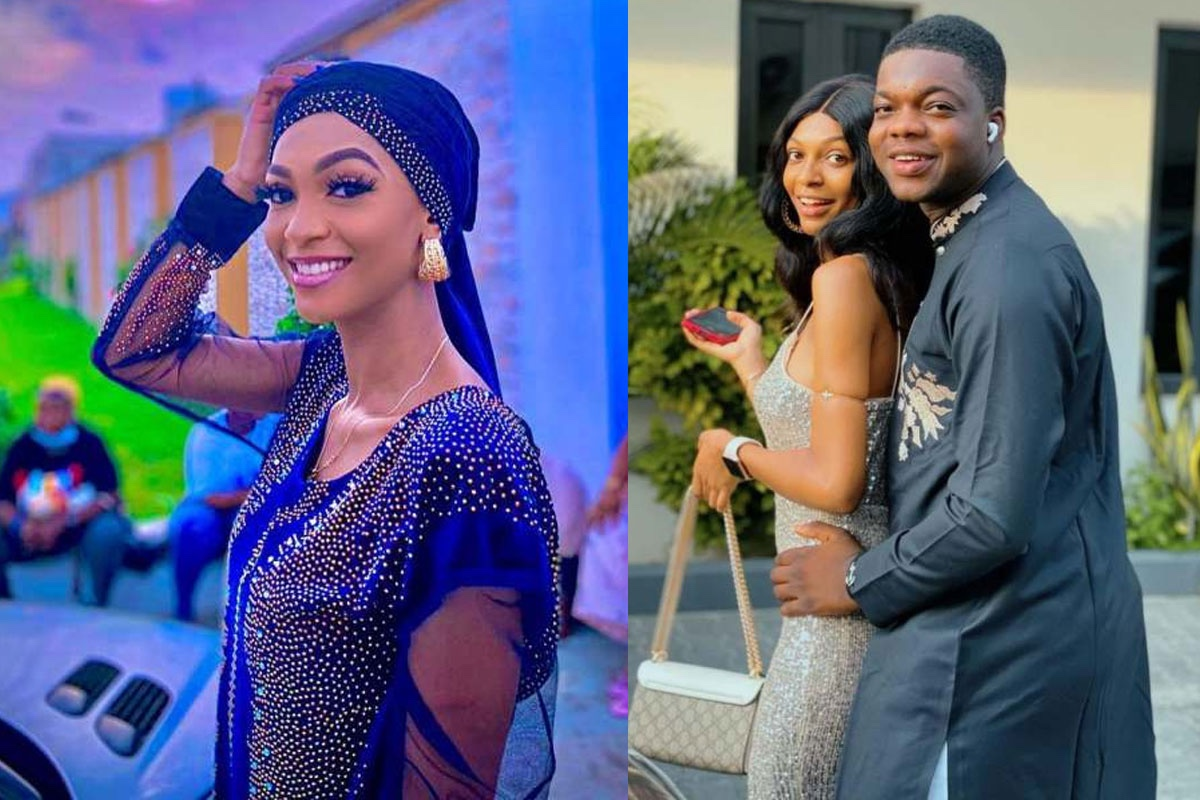 Social media influencer, Adeherself breaks silence as Cute Abiola secretly ties the knot with another lady