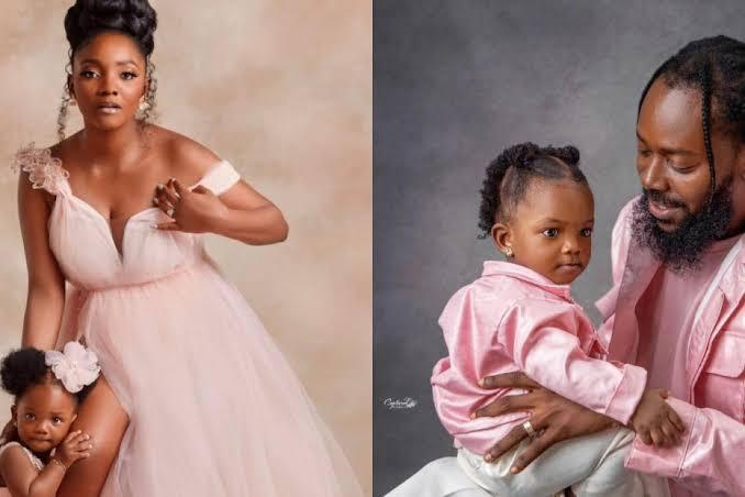 Simi, Adekunle Gold celebrate daughter's first birthday