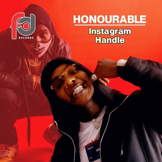 """FD Records signee """" HONOURABLE"""" debuts with new single named """"Instagram handle"""""""