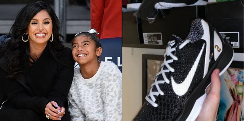 Vanessa Bryant calls out Nike after Gianna tribute shoe surfaces online without her permission