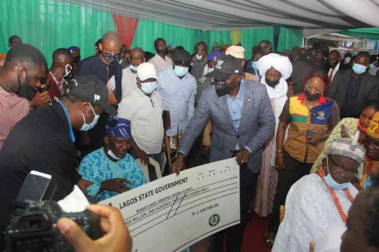 Baba Suwe, others get N500m compensation from Sanwo-Olu