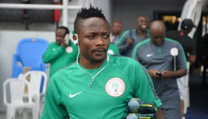 Ahmed Musa reportedly throws captain's armband on pitch as Nigeria fail to defeat Cameroon