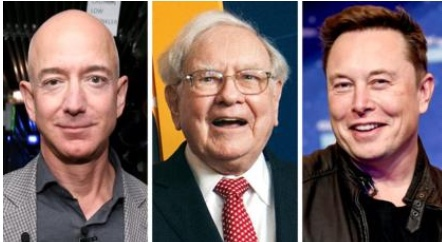 Report claims Billionaires Jeff Bezos, Elon Musk, Michael Bloomberg, paid very little in income taxes