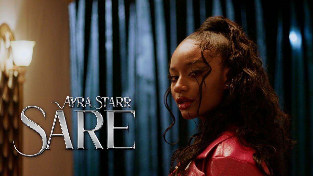 Mavin Records star girl, Ayra Starr premieres the visuals for 'Sare'