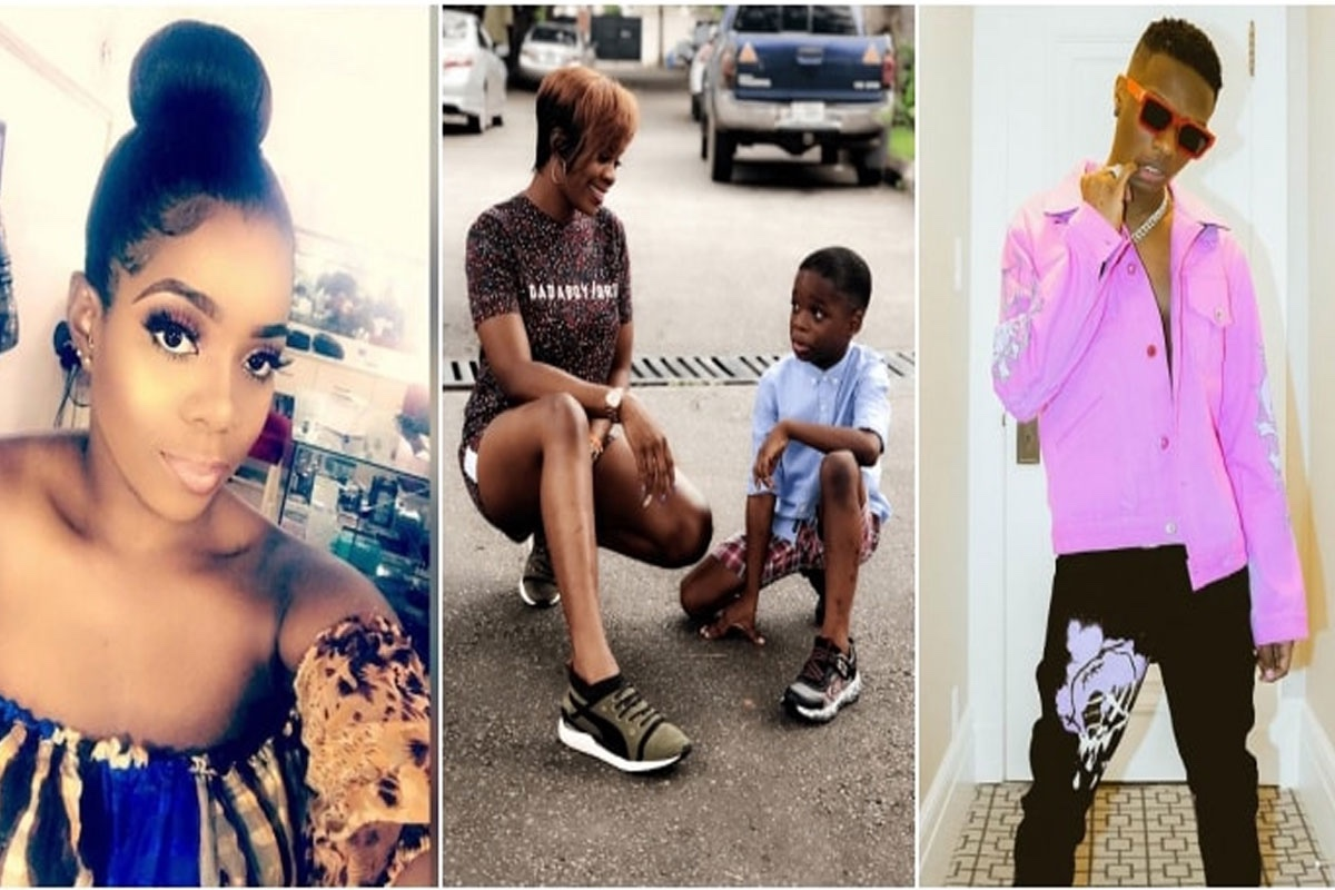 """""""I didn't know I was pregnant till after 5 months"""", Wizkid's first baby mama reveals"""