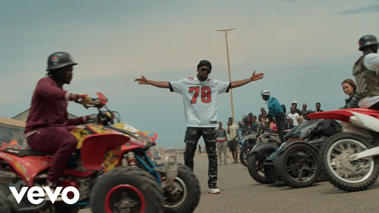 Patoranking shares the visuals for 'Celebrate Me'