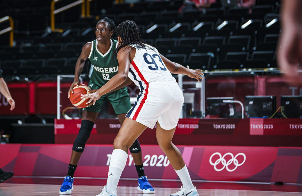 #Tokyo2020: D'Tigress Faces Crushing Defeat In Their Game Against France