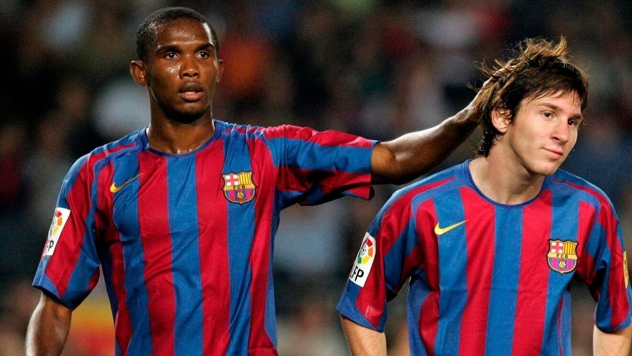 """""""I Did Not Play With Messi, He Played With Me"""" – Eto'o Snaps"""