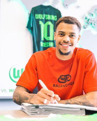 Wolfsburg Signs Nigerian Striker Lukas Nmecha from Man City
