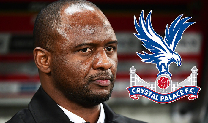 Arsenal legend Patrick Vieira appointed new manager of Crystal Palace
