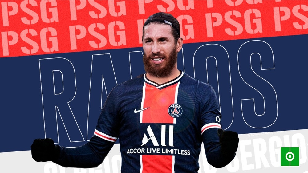 Footballer, Sergio Ramos signs for Paris Saint-Germain