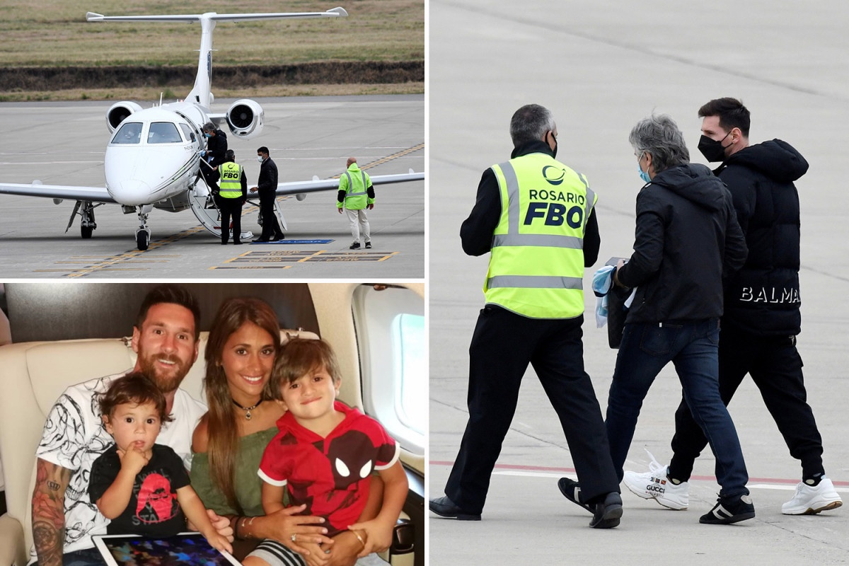Lionel Messi's private jet grounded in Argentina amid bomb scare at Rosario airport