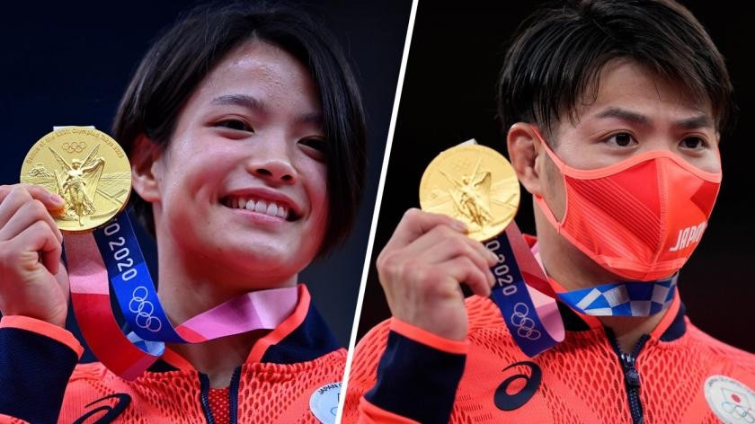 Japanese siblings make Olympic History by winning Gold on same day