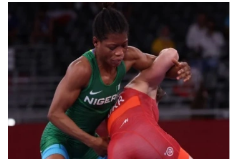 Team Nigeria end Tokyo Games' participation after another loss in women's wrestling