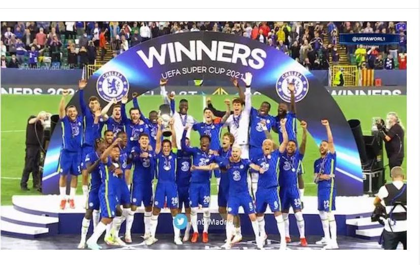 Kepa wins UEFA Super Cup for Chelsea
