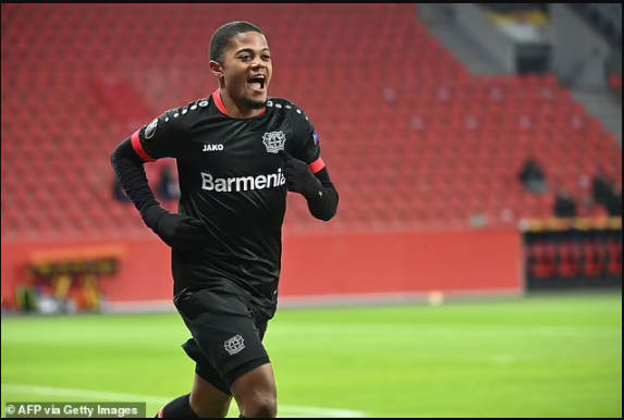 Aston Villa complete the £30m signing of Leon Bailey from Bayer Leverkusen