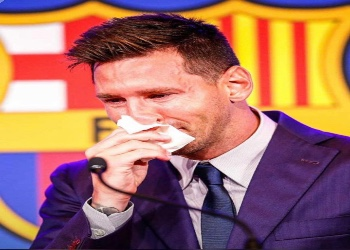 I wanted to stay', tearful Messi says goodbye to Barcelona