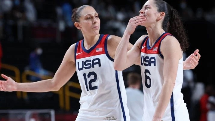 US win seventh straight women's Olympic basketball title