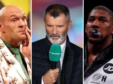 'They're irritating and talk too much… I don't like them' – Man.U legend Roy Keane slams Anthony Joshua and Tyson Fury