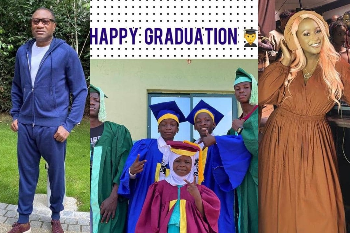 Ikorodu Bois graduate, thanks Femi Otedola, DJ Cuppy for sponsorship
