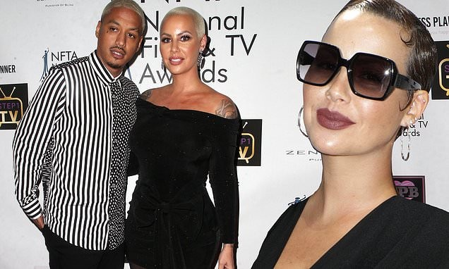 """'I've been suffering in silence' – Amber Rose accuses boyfriend Alexander """"AE"""" Edwards of cheating on her with 12 women"""