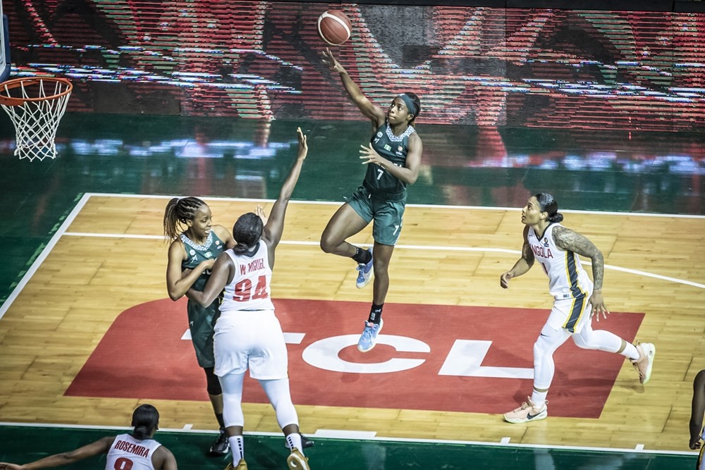2021 Women's AfroBasket: D'Tigress beat Angola to qualify for quarterfinals