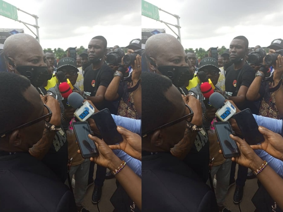 Why my father detained me – Charlyboy reveals after return from UK sojourn