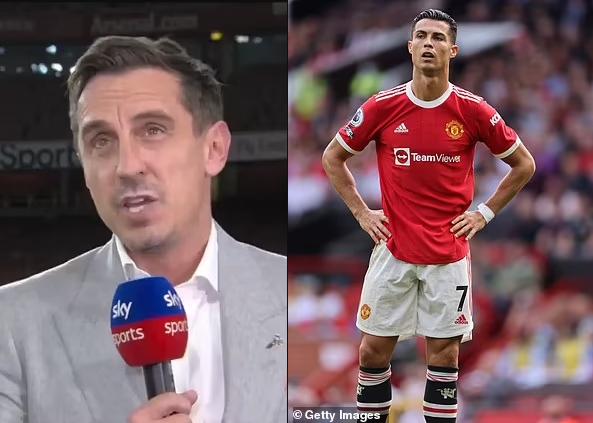 Gary Neville says Man.United won't win the Premier League despite Cristiano Ronaldo's return